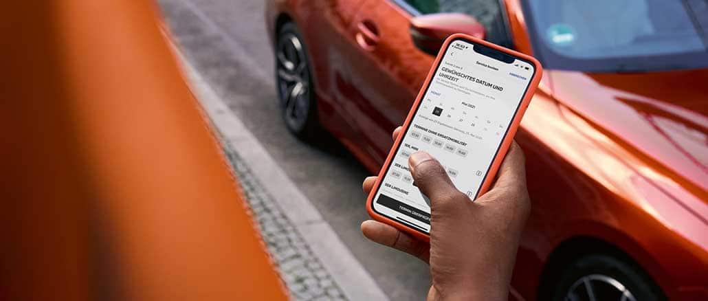 BMW Online Terminvereinbarung